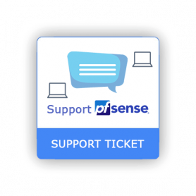 Support Ticket pfSense 1 Intervention