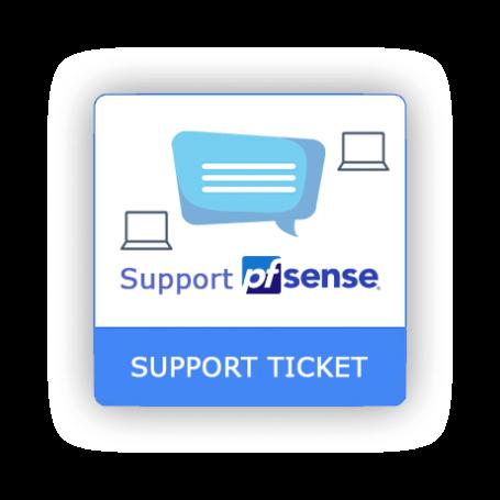 Ticket de support pfSense 1 intervention