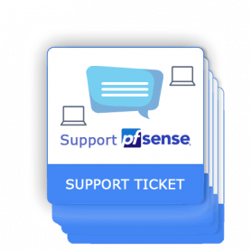 PfSense support ticket 5 interventions