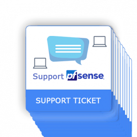 PfSense support ticket 10 interventions