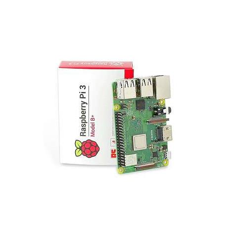 Raspberry Pi 3 modelo B CPU de cuatro núcleos a 1,2 GHz, 1 GB de RAM