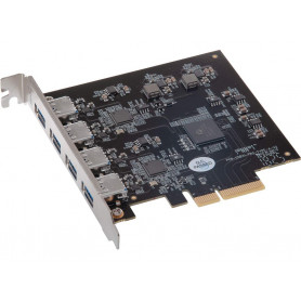 Sonnet Allegro Pro USB 3.2 Typ-A-PCIe 4-Ports 10 Gbit / s - Mac & Windows